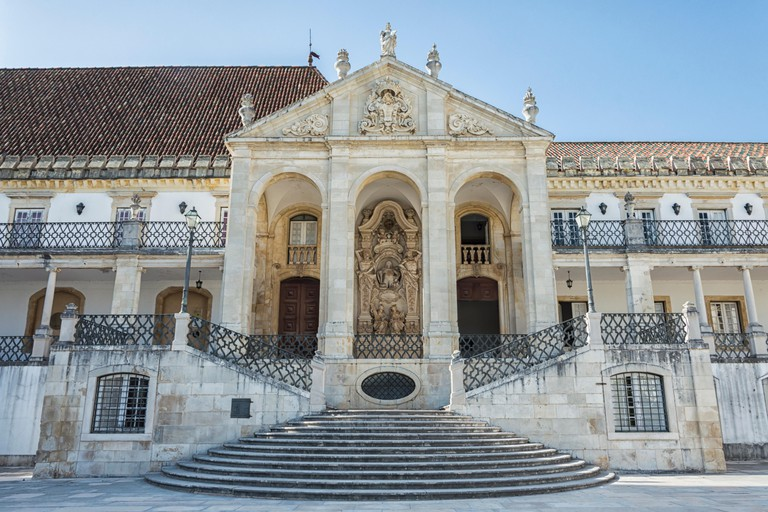Entrance to the Coimbra University