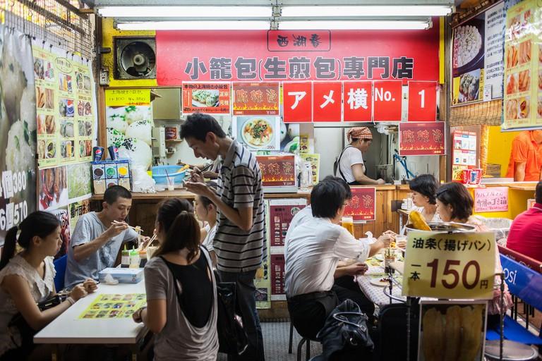 Chinese restaurant, in Ameyoko market, Tokyo