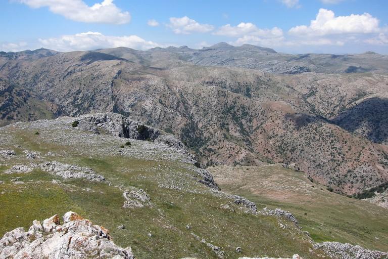 The Las Nieves Natural Park near Ronda