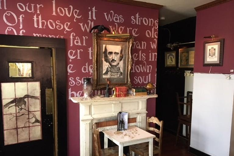 Annabel Lee Tavern Baltimore Edgar Allan Poe