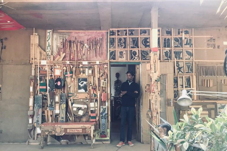 Le Village des Arts features an eclectic mix of workshops