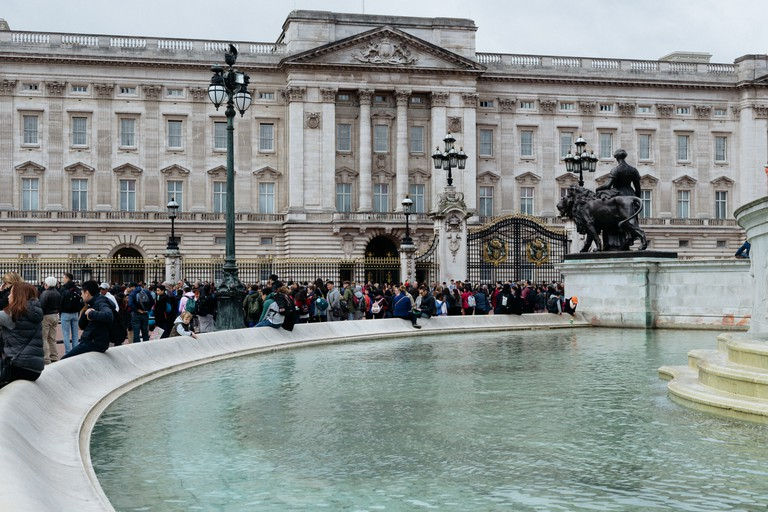 Buckingham Palace is the monarch's official London residence