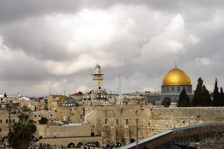 The Western Wall & Golden Dome of the Rock, Jerusalem