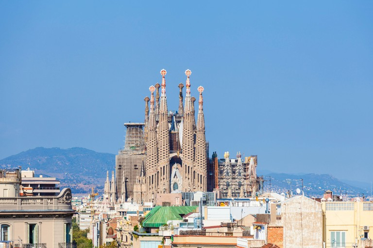 Spain Barcelona Spain Barcelona antoni gaudi sagrada familia Barcelona la sagrada familia cathedral Barcelona Spain catalunya catalonia eu Europe