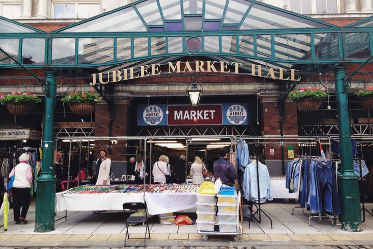 Antiques and Collectables Market in Covent Garden