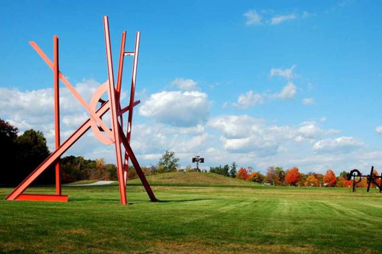 The Storm King Art Center is set on a sprawling estate