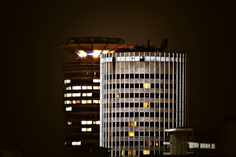 KICC at night