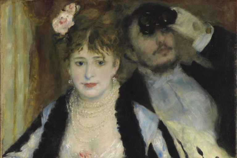 Pierre Auguste Renoir (1841-1919), La Loge (Theatre box), 1874