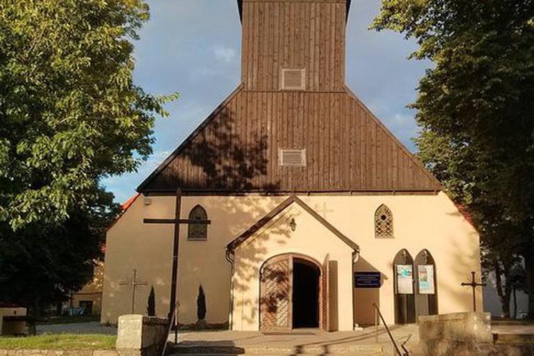 Church inŁeba