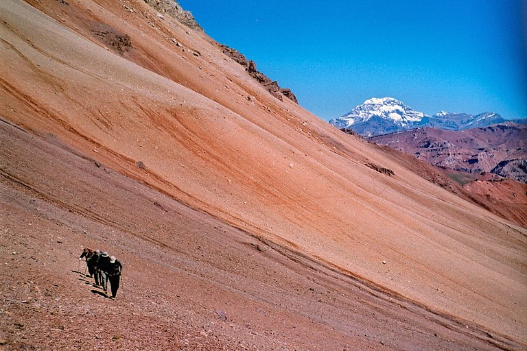 A day out on Mount Aconcagua, Mendoza