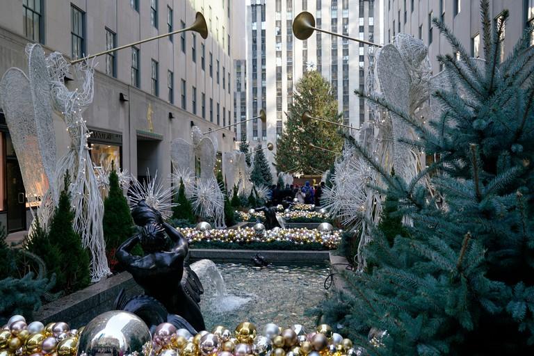 Rockefeller Center.Manhattan.New York City.USA