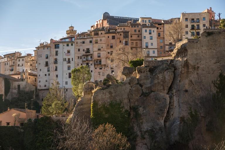 Houses of Cuenca old town, Spain