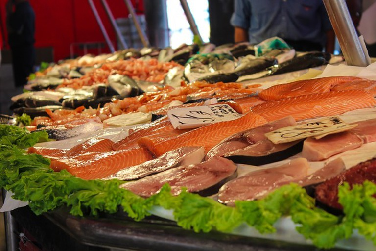 Marbella's food markets sell the freshest fish in the city