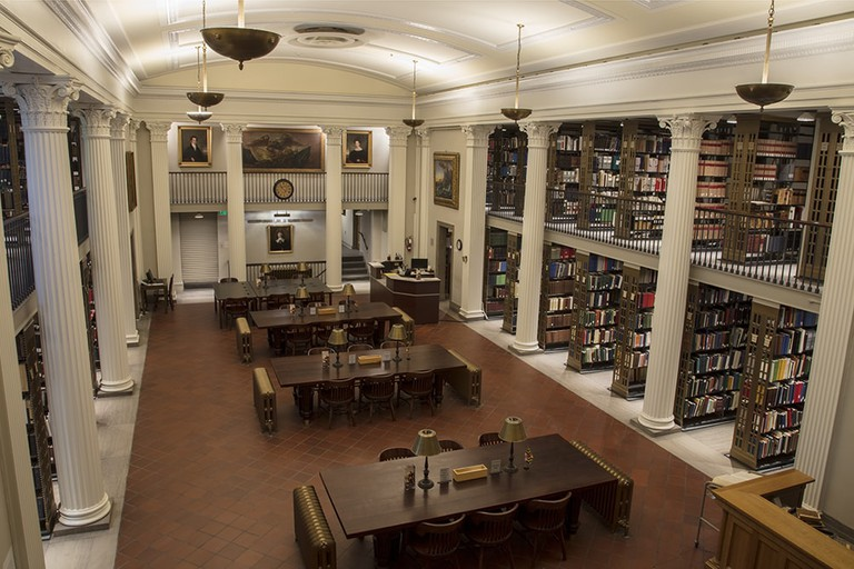 Most Beautiful Libraries Baltimore MdHS H. Furlong Baldwin Library 2017