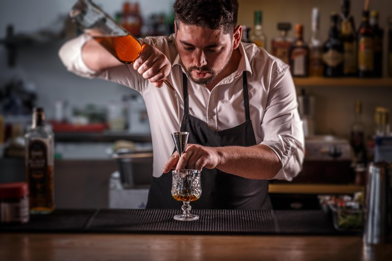 The Needle and Thread serves prohibition-inspired cocktails