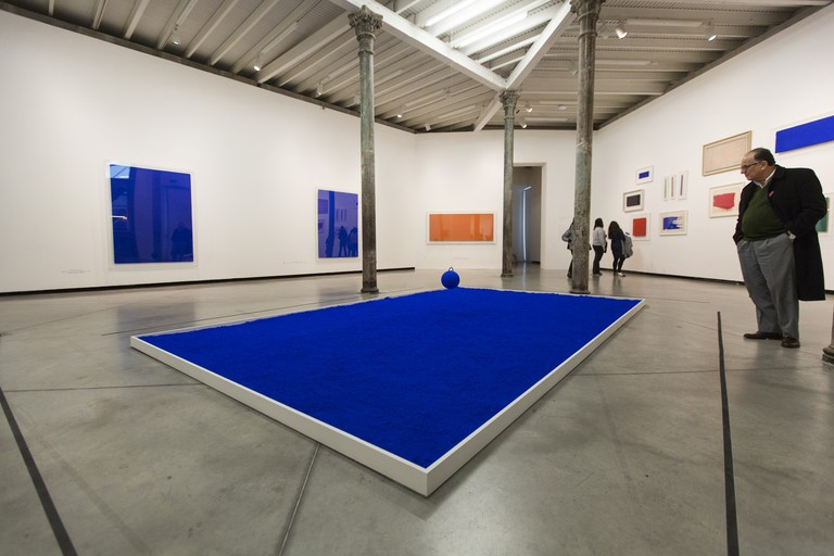 Yves Klein in the PROA