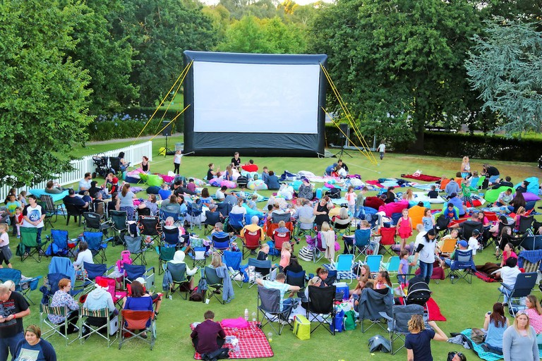 Mount Barker Outdoor Cinema © Wallis