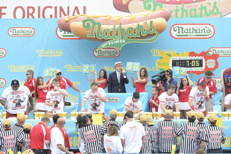 Nathan's Contestants