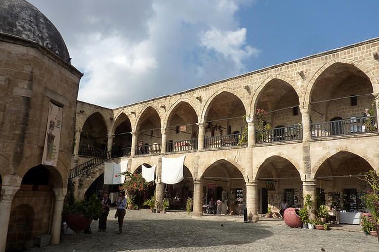 Nicosia, North Cyprus - Buyuk Han - in the market