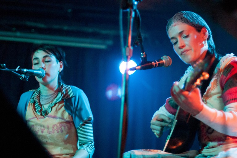 CocoRosie perform live at The Empty Bottle in Chicago
