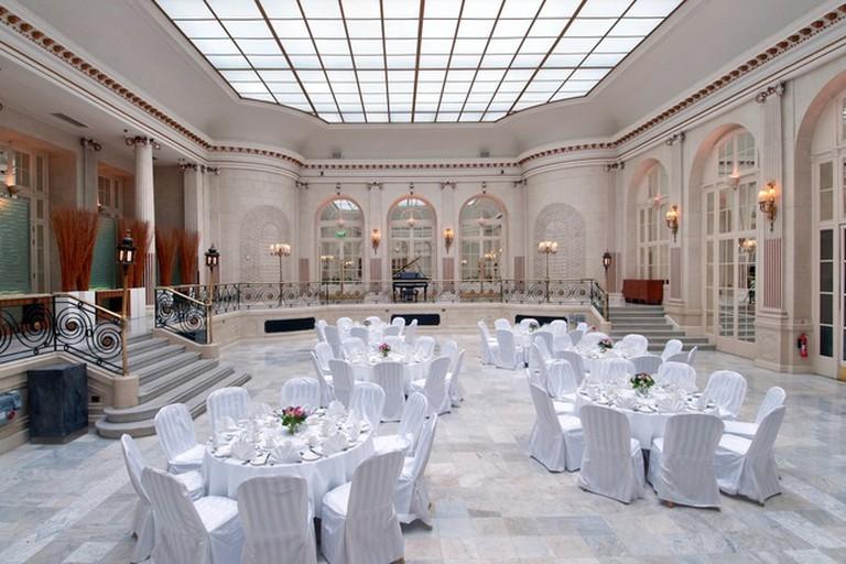 Palm Court at The Waldorf Hilton