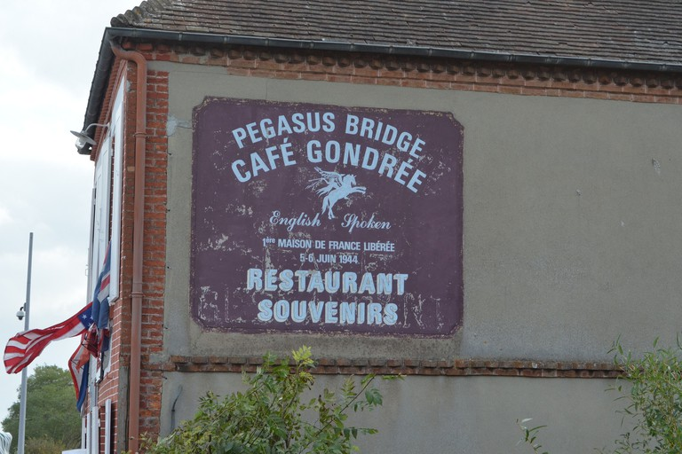 pegasus bridge cafe gondree