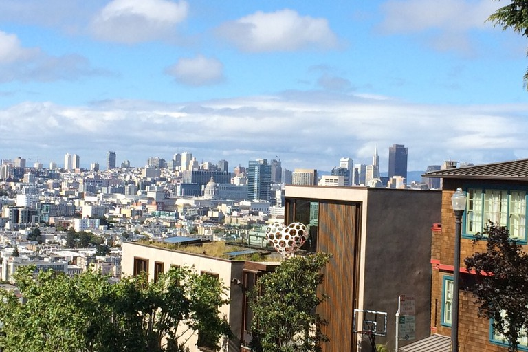 Hilltop view from Potrero Hill