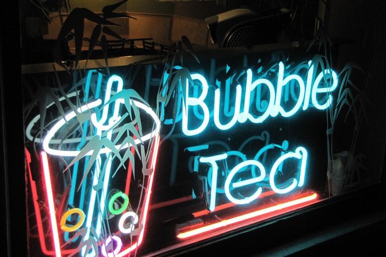 Bubble Tea Sign