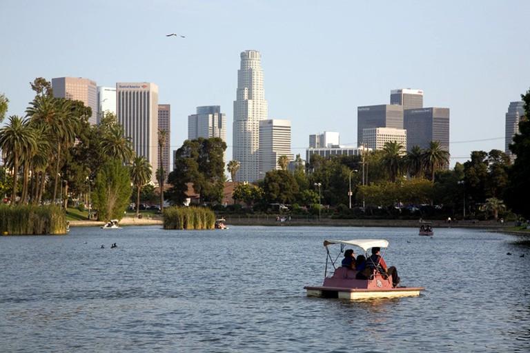 Pond in Echo Park