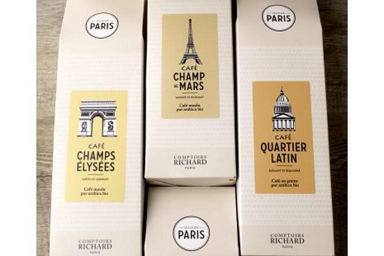Café bio Champs Elysées ville de Paris 250g
