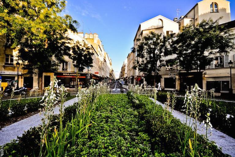 Place du Dr Félix Lobligeois, Batignolles