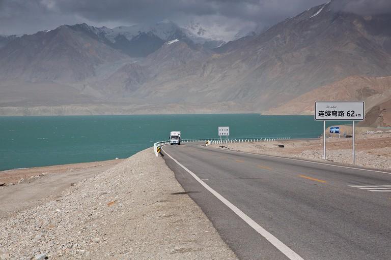Karakoram Highway, Xinjiang, Uyghur Autonomous Region, China