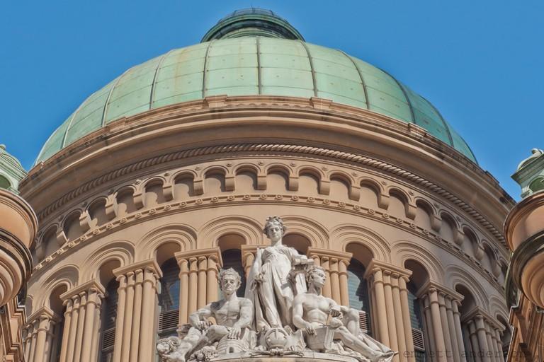 Queen Victoria Building dome © Emerald City to Oz / Flickr