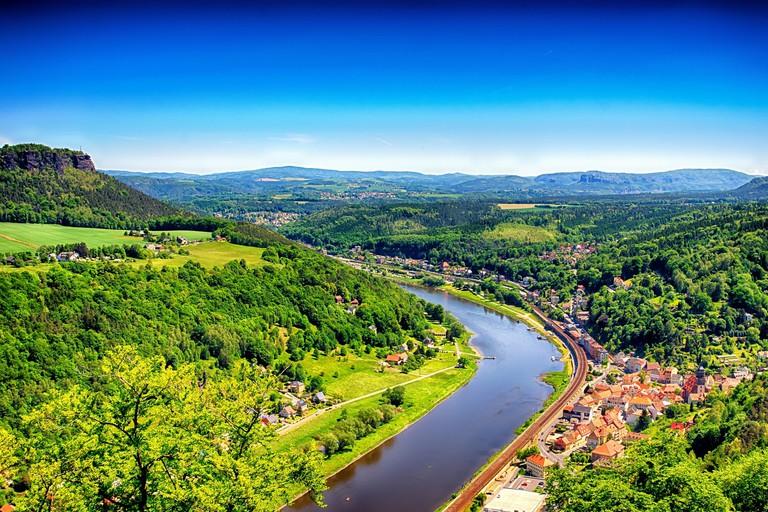 River Elbe, Saxon-Switzerland