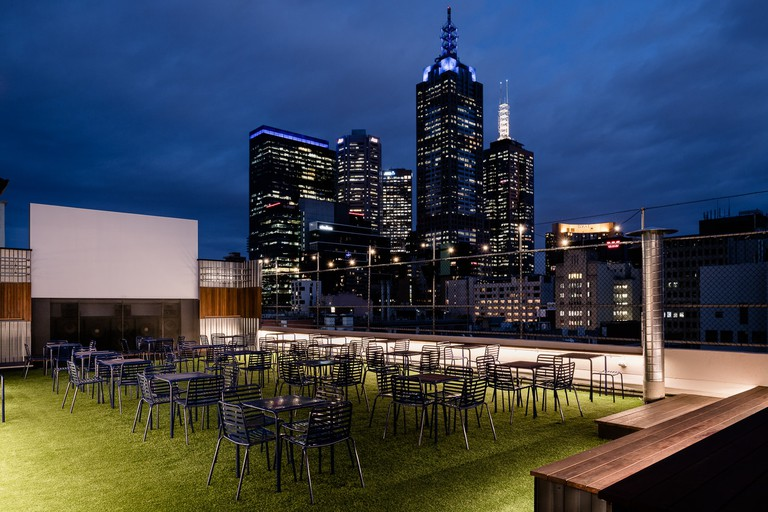 Rooftop Bar Melbourne views