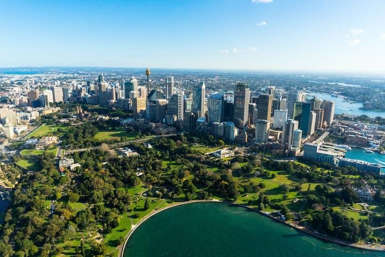 Royal Botanic Garden, Sydney © Olga Kashubin / Shutterstock