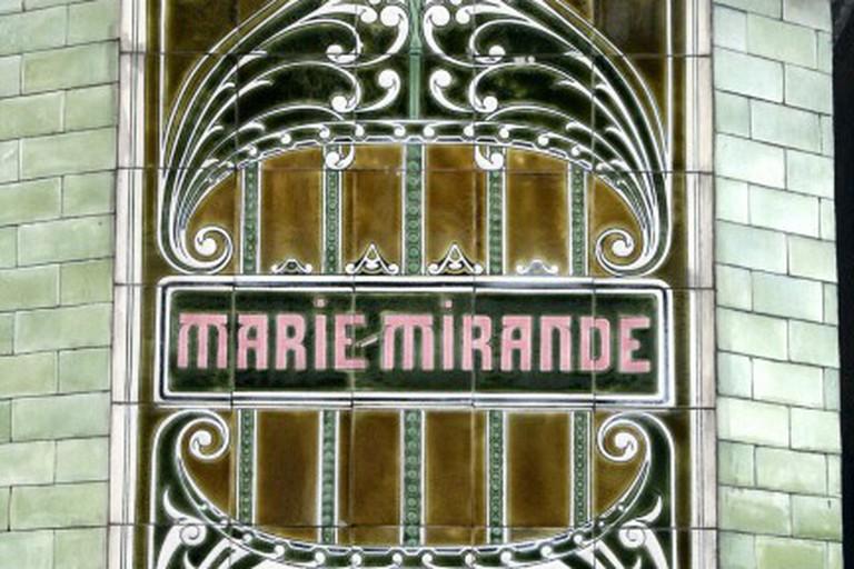 Villa Marie-Mirande Window