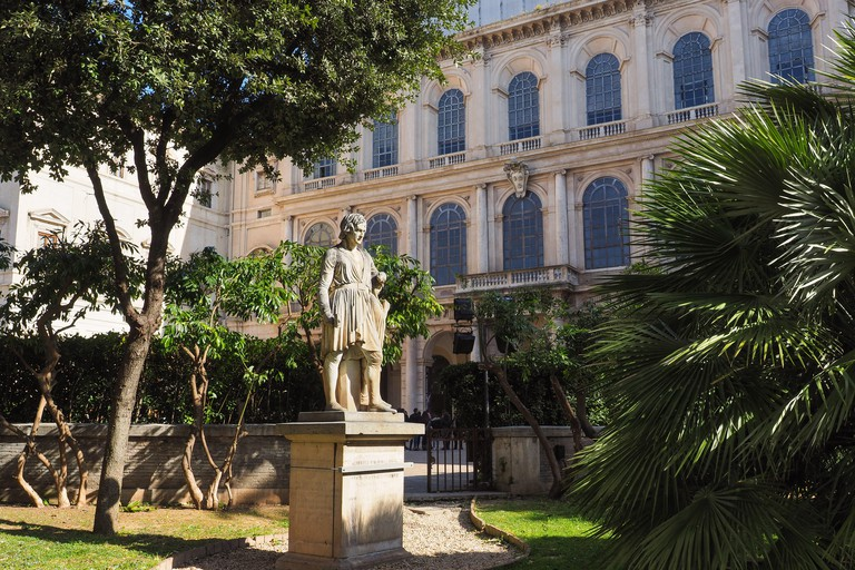 National Gallery of Ancient Art with renowned collection of artworks in Barberini Palace
