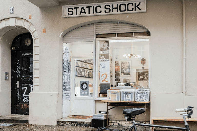 Static Shock Musik Store in Neukölln