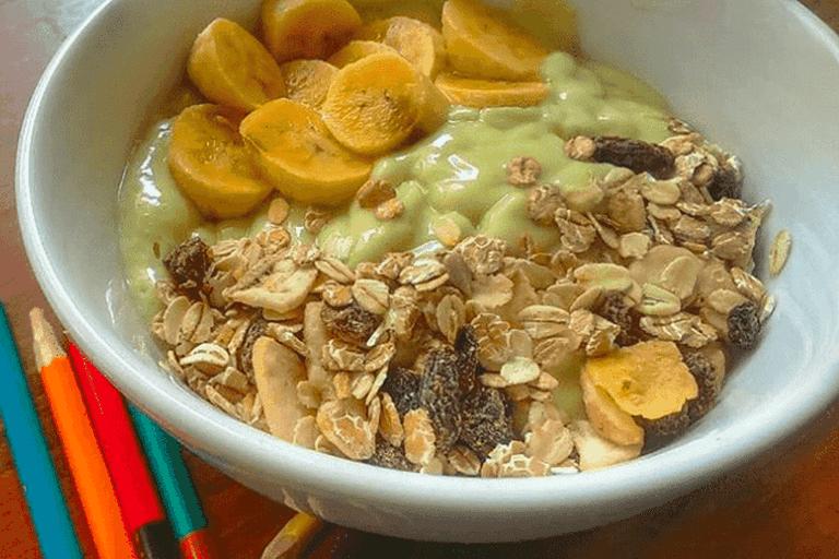 Avocado Smoothie Bowl | @simpleplantkitchen via Instagram