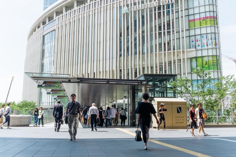 Grand Front mall-Osaka-Japan