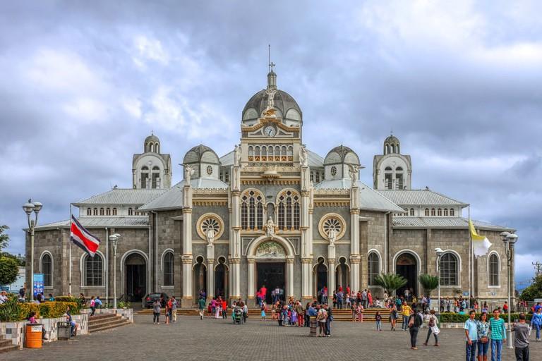 Basilica de Nuestra Senora de los Angeles in Cartago, Costa Rica   © Mihai-Bogdan Lazar/Shutterstock