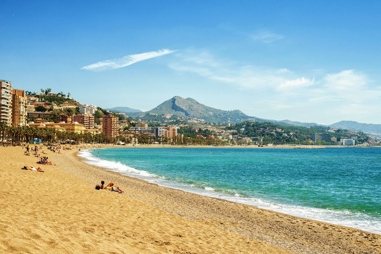 Playa de Almayate (Malaga) - informations, photos et carte