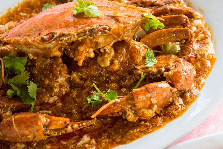 Singapore Jumbo Seafood Chilli Crab