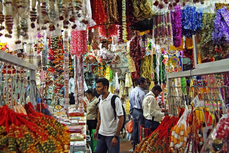 Singapore Little India Stalls