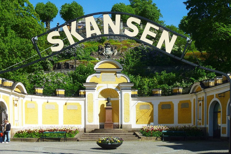 The grand entry to Skansen