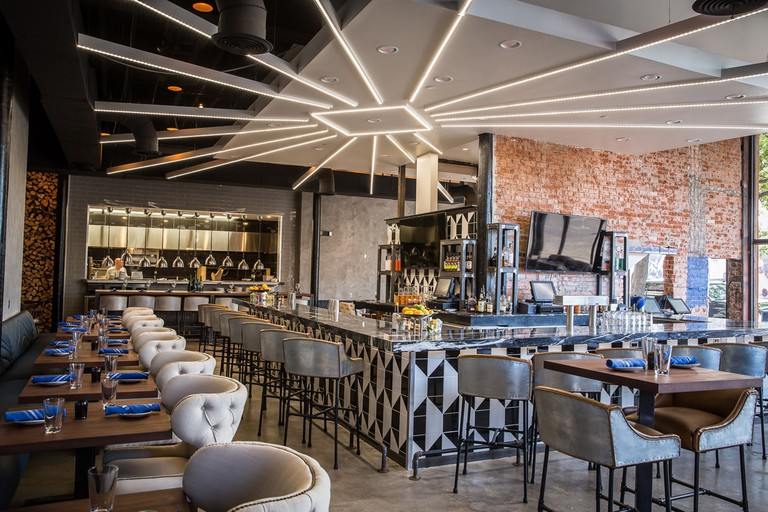 Stirr's bars are chic and stylish with a lively atmosphere on the weekend