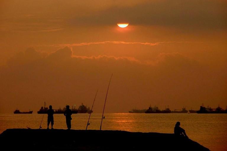 Sunrise at East Coast Park