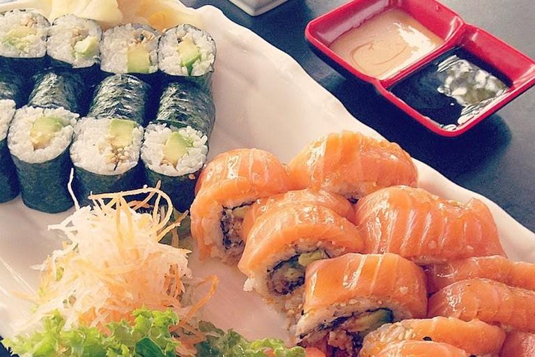 Sushi at Surf & Sushi