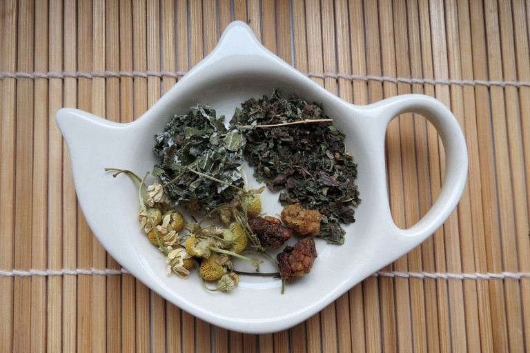 Mugwort tea